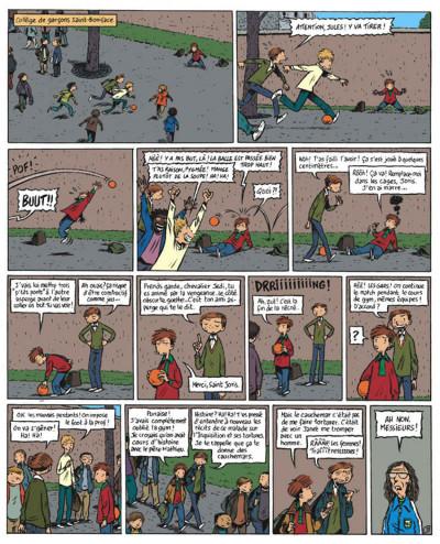 Page 3 Une épatante aventure de jules tome 5 - la question du père