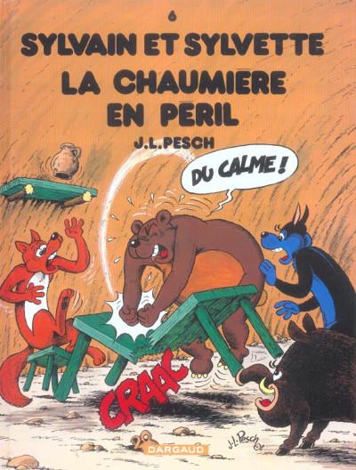 image de Sylvain et sylvette jeunesse tome 6 - la chaumière en péril