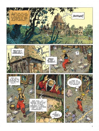 Page 3 La quête de l'oiseau du temps - avant la quête tome 1 - l'ami javin