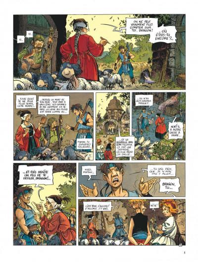 Page 5 La quête de l'oiseau du temps - avant la quête tome 1 - l'ami javin