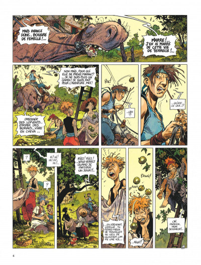Page 6 La quête de l'oiseau du temps - avant la quête tome 1 - l'ami javin