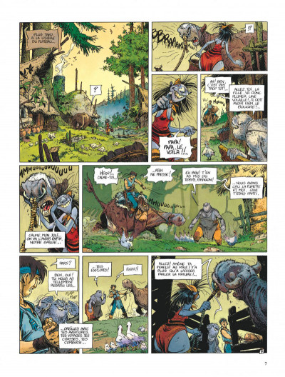 Page 7 La quête de l'oiseau du temps - avant la quête tome 1 - l'ami javin