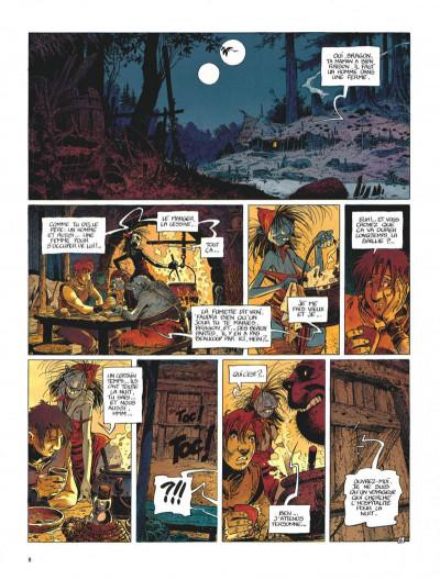 Page 8 La quête de l'oiseau du temps - avant la quête tome 1 - l'ami javin