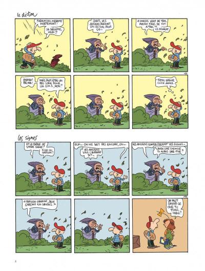 Page 4 Le retour à la terre tome 3 - le vaste monde