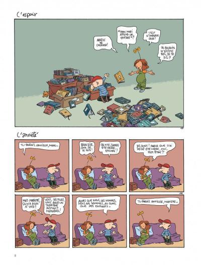 Page 8 Le retour à la terre tome 3 - le vaste monde