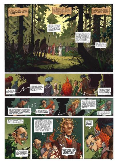Page 1 La quête de l'oiseau du temps - avant la quête tome 2 - le grimoire des dieux