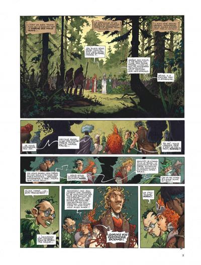 Page 5 La quête de l'oiseau du temps - avant la quête tome 2 - le grimoire des dieux