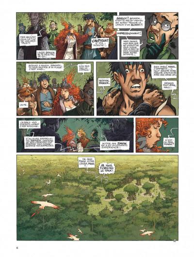 Page 6 La quête de l'oiseau du temps - avant la quête tome 2 - le grimoire des dieux