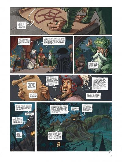 Page 7 La quête de l'oiseau du temps - avant la quête tome 2 - le grimoire des dieux