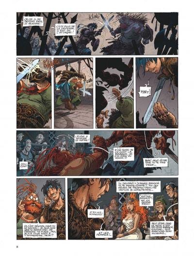 Page 8 La quête de l'oiseau du temps - avant la quête tome 2 - le grimoire des dieux