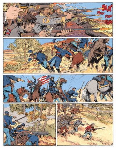 Page 2 La jeunesse de blueberry tome 16 - 100 dollars pour mourir