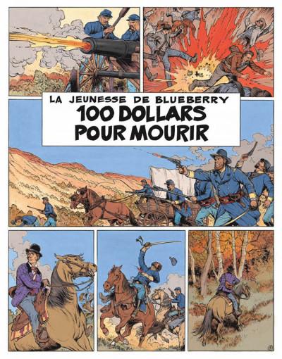 Page 3 La jeunesse de blueberry tome 16 - 100 dollars pour mourir