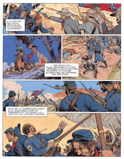 Page 5 La jeunesse de blueberry tome 16 - 100 dollars pour mourir