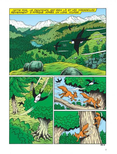 Page 3 Sylvain et sylvette tome 50 - le petit gorille