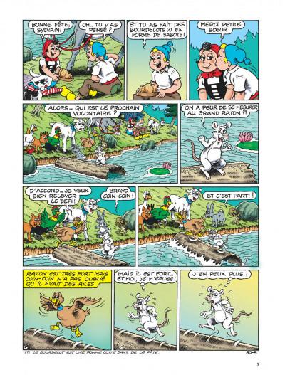 Page 5 Sylvain et sylvette tome 50 - le petit gorille