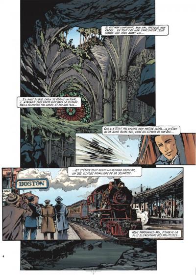 Page 2 Le maître de benson gate tome 1 - adieu calder
