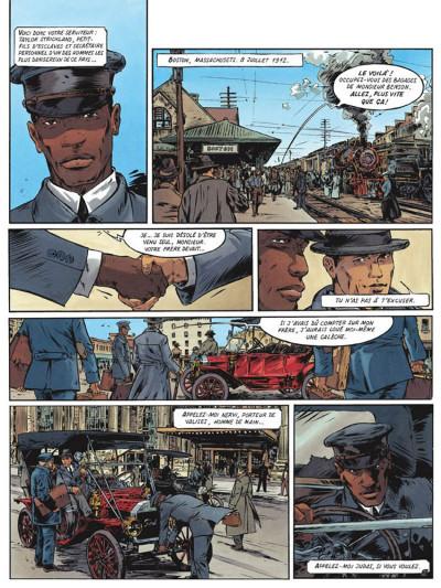 Page 3 Le maître de benson gate tome 1 - adieu calder