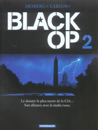 Couverture Black op tome 2