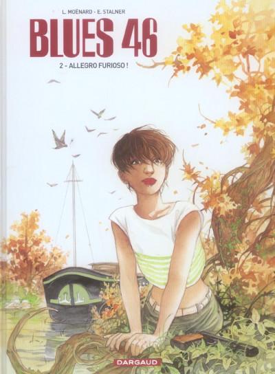Couverture Blues 46 tome 2 - allegro furioso