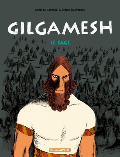 Couverture Gilgamesh tome 2 - le sage