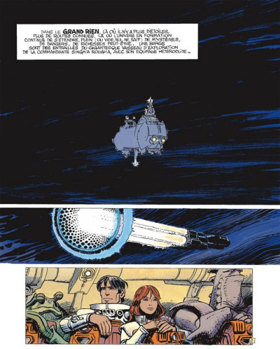 Page 1 Valérian tome 20 - l' ordre des pierres