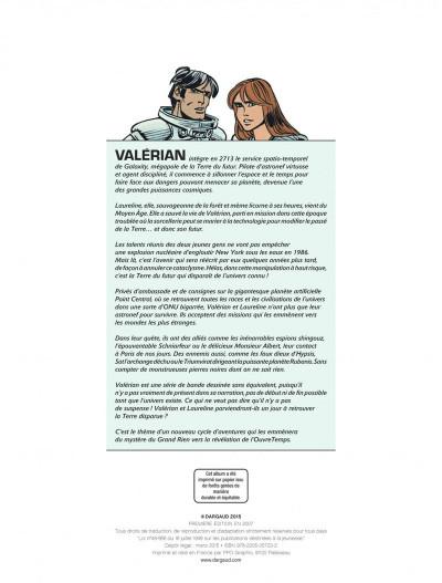 Page 2 Valérian tome 20 - l' ordre des pierres