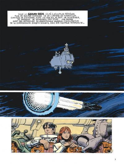 Page 3 Valérian tome 20 - l' ordre des pierres