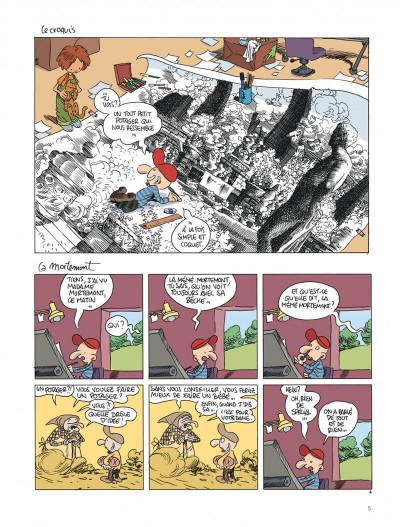 Page 5 Le retour à la terre tome 2 - les projets