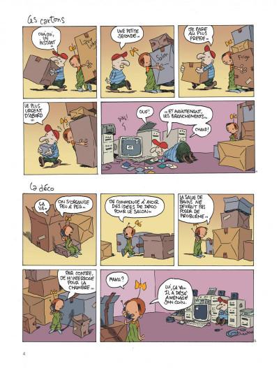 Page 4 Le retour à la terre tome 1 - la vraie vie