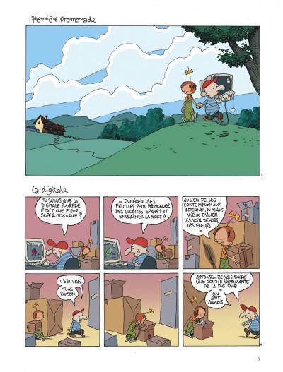 Page 5 Le retour à la terre tome 1 - la vraie vie