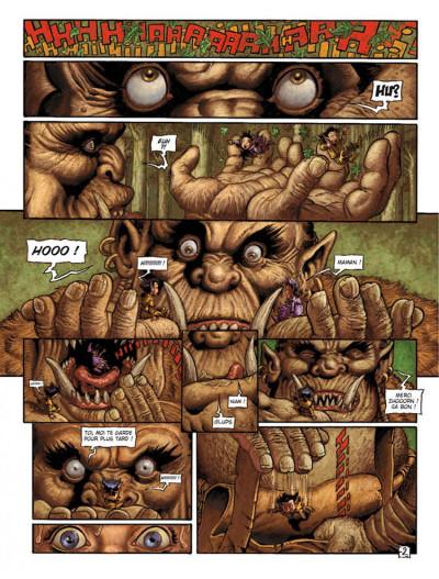 Page 2 Les arcanes de la lune noire tome 2 - pile-ou-face