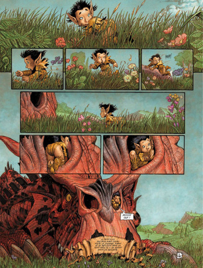 Page 4 Les arcanes de la lune noire tome 2 - pile-ou-face