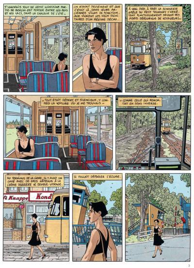 Page 1 Léna tome 1 - le long voyage de léna