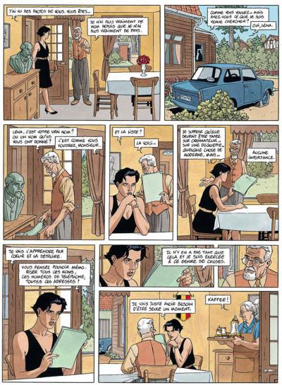 Page 3 Léna tome 1 - le long voyage de léna