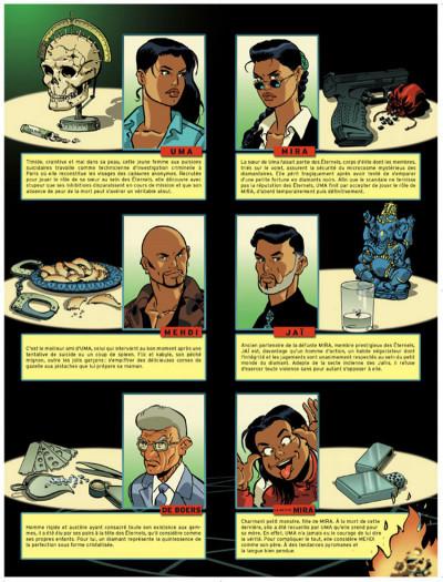 Page 1 Les éternels tome 4 - le puits des ténèbres