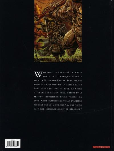 Dos Chroniques de la lune noire tome 13 - la prophétie