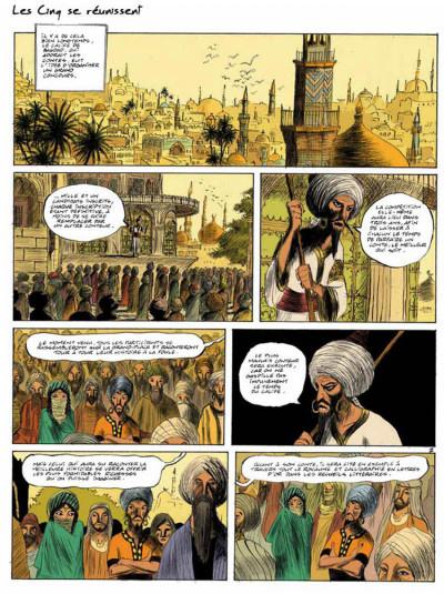 Page 2 Les cinq conteurs de bagdad