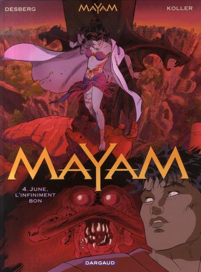 Couverture Mayam tome 4 - june, l'infiniment bon