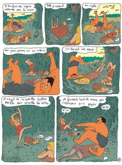 Page 4 La vallée des merveilles tome 1 - chasseur-cueilleur
