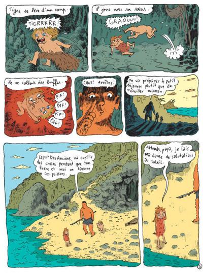 Page 5 La vallée des merveilles tome 1 - chasseur-cueilleur