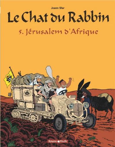 Couverture Le chat du rabbin tome 5 - jérusalem d'afrique