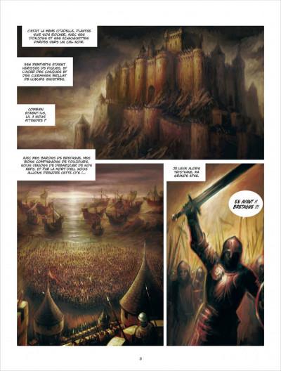 Page 3 La ville d'Ys tome 1 - la folie Gradlon