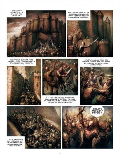Page 4 La ville d'Ys tome 1 - la folie Gradlon