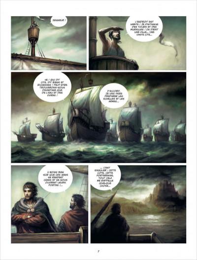 Page 7 La ville d'Ys tome 1 - la folie Gradlon