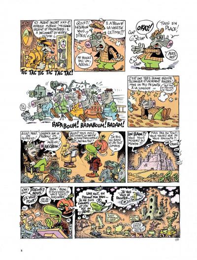 Page 6 Le concombre masqué - le bain de minuit