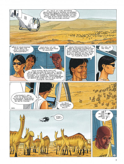 Page 5 Antarès tome 1
