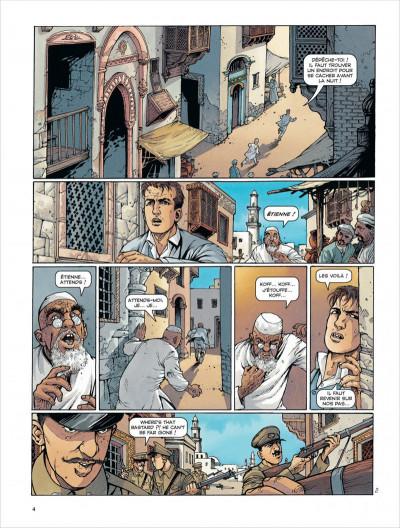 Page 4 La croix de cazenac tome 8 - la mort du tigre