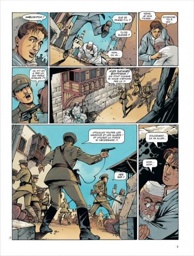 Page 5 La croix de cazenac tome 8 - la mort du tigre
