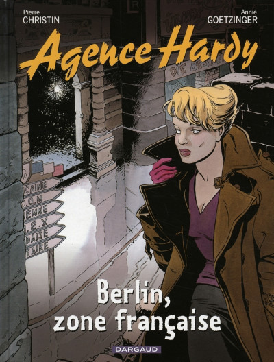 Couverture agence hardy tome 5 - berlin, zone française