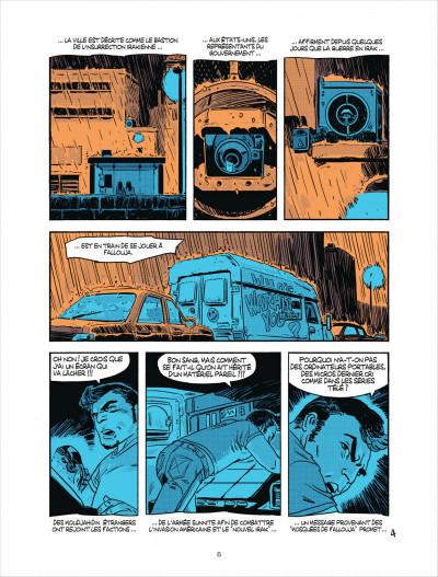Page 4 Cellule poison tome 2 - qui suis-je ?